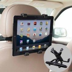 Soporte tablet universal regulable para reposacabezas coche Tablets, Electronics, Consumer Electronics