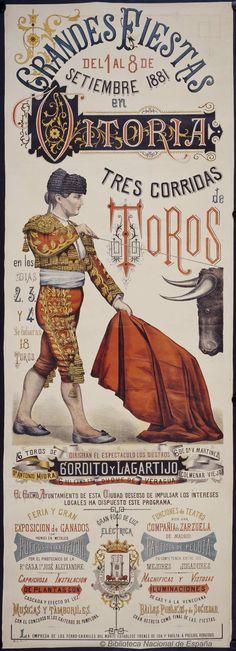 Grandes fiestas del 1 al 8 de setiembre 1881 en Vitoria. Vitoria Ayuntamiento — Dibujos, grabados y fotografías — 1881