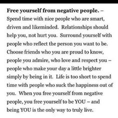 Surround yourself with..