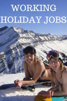 There are many working holiday jobs available in a number of industries. This is an example of the diverse types of roles you can do on a working holiday. Holiday Jobs, Holiday Fun, Holiday Ideas, Become A Travel Agent, Work In Australia, Becoming A Blogger, Canada Holiday, Budget Holidays, Work Visa