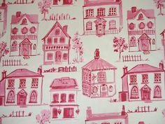 Clarke and Clarke Studio G Noella in Raspberry Curtain Upholstery Craft Fabric