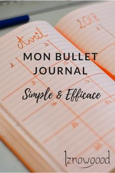 My bullet journal, simple and effective – Anita Bobbie Bullet Journal Onenote, Bullet Journal Simple, Bullet Journal Monthly Spread, Bullet Journal Notebook, Bullet Journal School, Bullet Journal Themes, Bullet Journal Inspiration, Organization Journal, Filofax