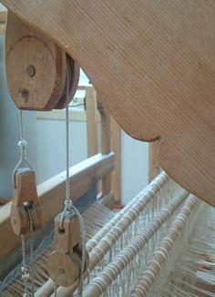 Kristine sin vevstol - Kristine's loom