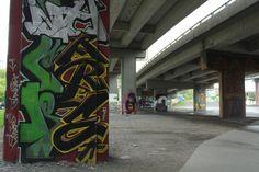Graffiti galore in Quebec City