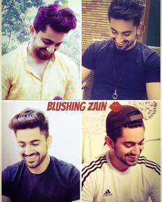 Looks so cuteee when he blushes💕💕😍😍😍 Love U So Much, My Love, Kumkum Bhagya, Zain Imam, Celebs, Celebrities, My Crush, Zayn, Your Smile