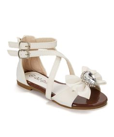 Look at this QQ Girl White Crisscross Julia Sandal on today! Girls Sandals, Cute Sandals, Girls Shoes, Ella Shoes, Me Too Shoes, Baby Shoes, Victoria Shoes, Baby Girl Closet, Little Girl Shoes