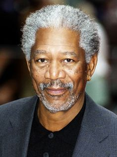 Nick is like Morgan Freeman because Morgan is very knowledgeable and political in my mind.