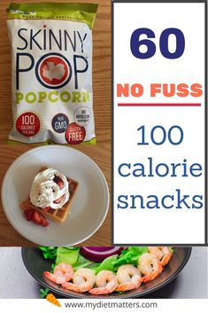 Here are 60 snacks that do NOT require recipes. They are only 100 calories of sweet, salty, crunchy, or protein rich taste! Healthy Salty Snacks, Healthy Bedtime Snacks, Healthy School Snacks, Diet Snacks, Snacks Kids, Salty Foods, Healthy Breakfasts, Protein Snacks, High Protein