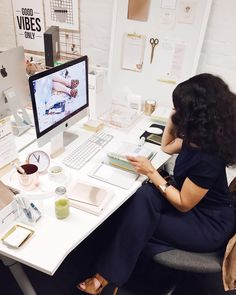 """Shirley B. Eniang on Instagram: """"Working from @theaptmt today. I'm at the @kikkik_loves desk and they have incredible stationery you should check out! #lfw"""""""