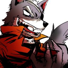 wolf o'donnell | Tumblr Fox Mccloud, Fox Games, Nintendo Super Smash Bros, Fox Pictures, Star Fox, Anthro Furry, Heart For Kids, Furry Art, Beautiful Creatures