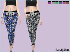 Sims 4 CC's - The Best: CandyDoll Panda Cute Leggings by DivaDelic06