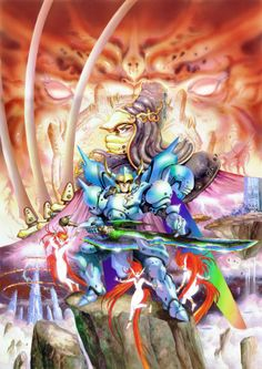 Wind of Thunder PC Engine  -art by Masamune Shirow-