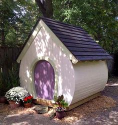 A Place Imagined Designer Playhouses - wow, would have loved this as a kid. You can buy the plans and build your own for $35.