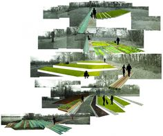 upenn landscape architecture photomontage - Recherche Google