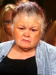 Ugly People of Judge Judy. This is never an okay expression to make!