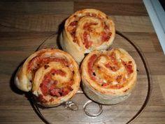 """Pizza """"pullat"""" Kotikokki.netin nimimerkki HeidiHelenan ohjeella"""