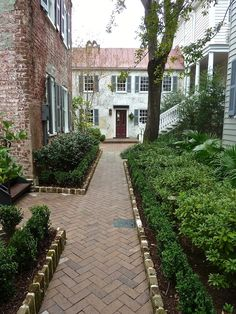 Zero George  Charleston Hotel- .five restored circa 1804 buildings surrounding open courtyards in the Ansonborough District of the city