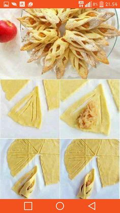 111 Perfect Dessert Dough Models Hand and Homemade – Pancake Recipes and Picture… - Pastry Diy Dessert, Dessert Decoration, Dessert Recipes, Pancake Recipes, Pastry Recipes, Apple Recipes, Homemade Pancakes, Snacks Für Party, Food Presentation