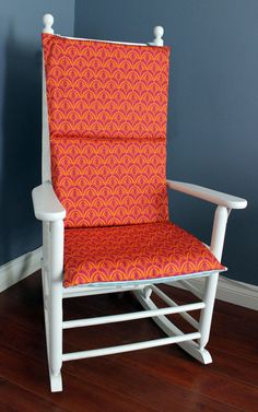 Red Hexagon Adjustable Rocking Chair Pad | Rocking Chair Cushions, Rocking  Chairs And Chair Cushion Covers
