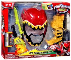 Power Rangers Dino Charge Red Ranger Hero Set Roleplay Toy on sale ...