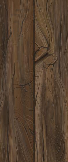 ArtStation - Wood texture, Marta Świątkowska