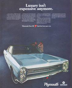Chrysler Corporation, 1968