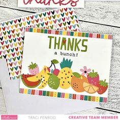 Mini Scrapbook Albums, Mini Albums, Thanks Words, Scrapbook Layout Sketches, Thanks A Bunch, Thank You Notes, Color Card, My Stamp, Scrapbook Supplies