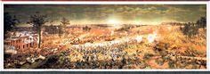 The Cyclorama: Three dimensional War Between the States depiction, Atlanta