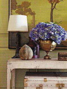 Architect Bill Ingram's Alabama cottage. Southern Accents July August 2009