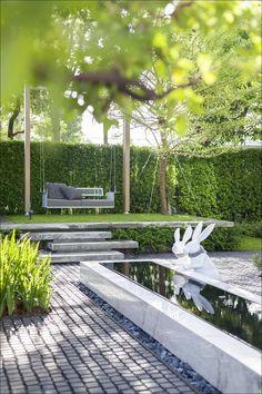 20 Excellent City Garden Design Ideas That Bring Green Paradise For You Urban Garden Design, Garden Design Plans, Backyard Garden Design, Small Garden Design, Backyard Landscaping, Terrace Garden, Backyard Ideas, Garden Planning, Garden Inspiration