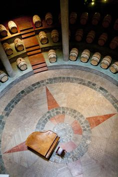 Cava de Bodega #Salentein, Valle de Uco #Mendoza. / wine cellar Salentein Winery