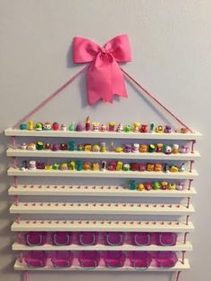 Shopkins Display Shelf Shopkins Storage by CactusHillCottage