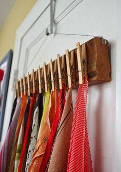 18 ideias para organizar os seus acessórios | MdeMulher