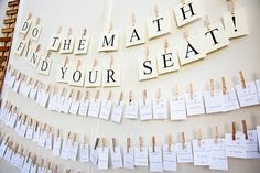 Do the math to find your seat- Great idea for bell-work/new seating chart day!