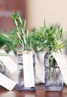 Herb placecards