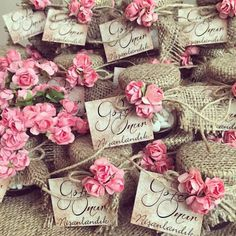 Wedding Favors / Nikah şekeri www. Wedding Crafts, Wedding Party Favors, Wedding Wishes, Wedding Doors, Baby Wedding, Wedding Bags, Shower Gifts, Craft Gifts, Special Day