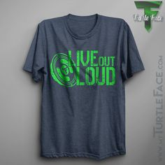 Live Out Loud Tee, Men's, Women's T-shirt, Lifestyle t-shirt, Great Concert Tee, Soft Fashion Comfort Shirt, Music Lovers T-shirt, Favorite by TFLifestyles on Etsy