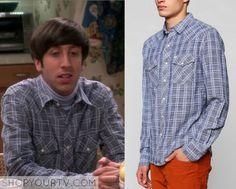 Big Bang Theory: Season 9 Episode 1 Howard's Plaid Shirt