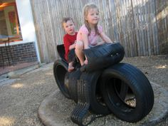 another used car tire toy idea