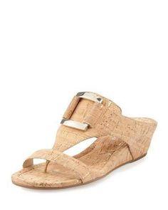 Faye Metallic Suede Slingback Sandals PYno5