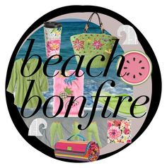 """""""Beach bonfire"""" by solfrid-holte-johansen on Polyvore featuring Kate Spade and SO"""