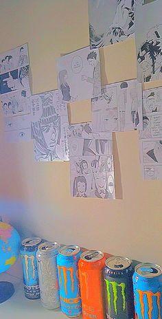 ideia de parede de quarto