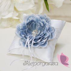 poduszka z kwiatem