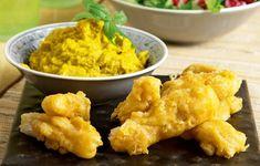 Η σκορδαλιά καρότου είναι απαλή, βελούδινη και αποτελεί το καλύτερο συνοδευτικό για το τηγανιτό ψάρι που θα φτιάξουμε.