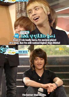 Jonghyun and Minho, SHINee