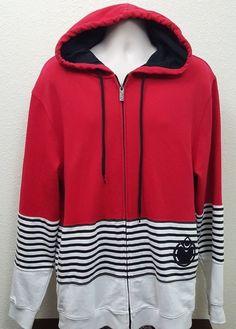 Nomis Full Zip Hoodie Long Sleeve Men's Jacket Size XL #Nomis #HoodieFullZipUpJacket
