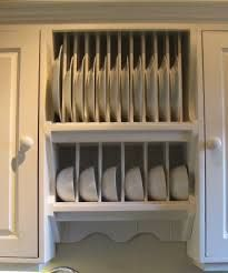 Image result for plate rack and cupboard