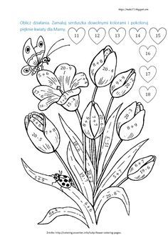 Select from 20946 printable crafts of cartoons, nature, animals, Bible and many more. Printable Flower Coloring Pages, Colouring Pages, Coloring Pages For Kids, Preschool Math, Teaching Math, Math Activities, Beautiful Flower Drawings, Eureka Math, Pyrography Patterns