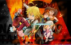 nanatsu no taizai - anime sobre os sete pecados capitais