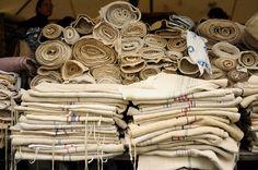 I love vintage linen.